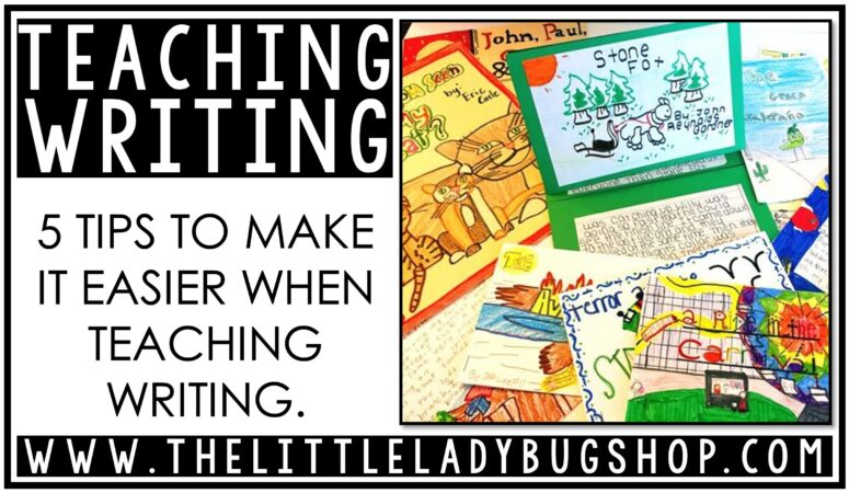 5 Tips for Teaching Writing in Upper Elementary