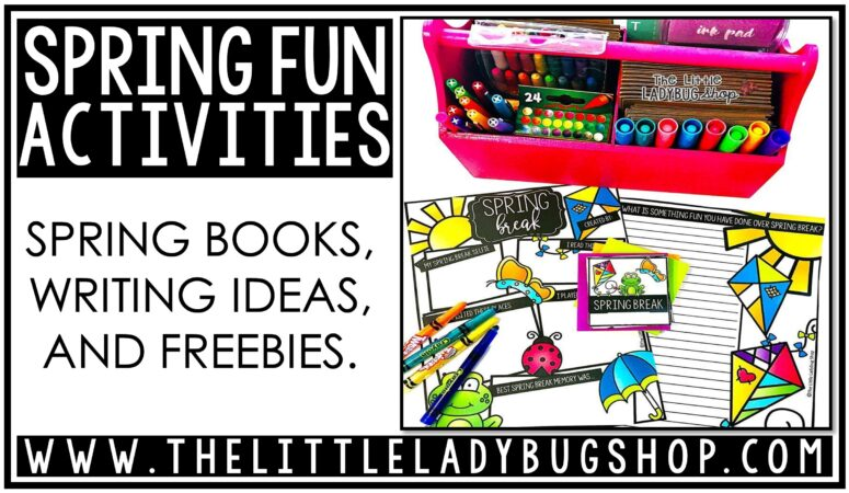 Spring Activities, Books and Ideas