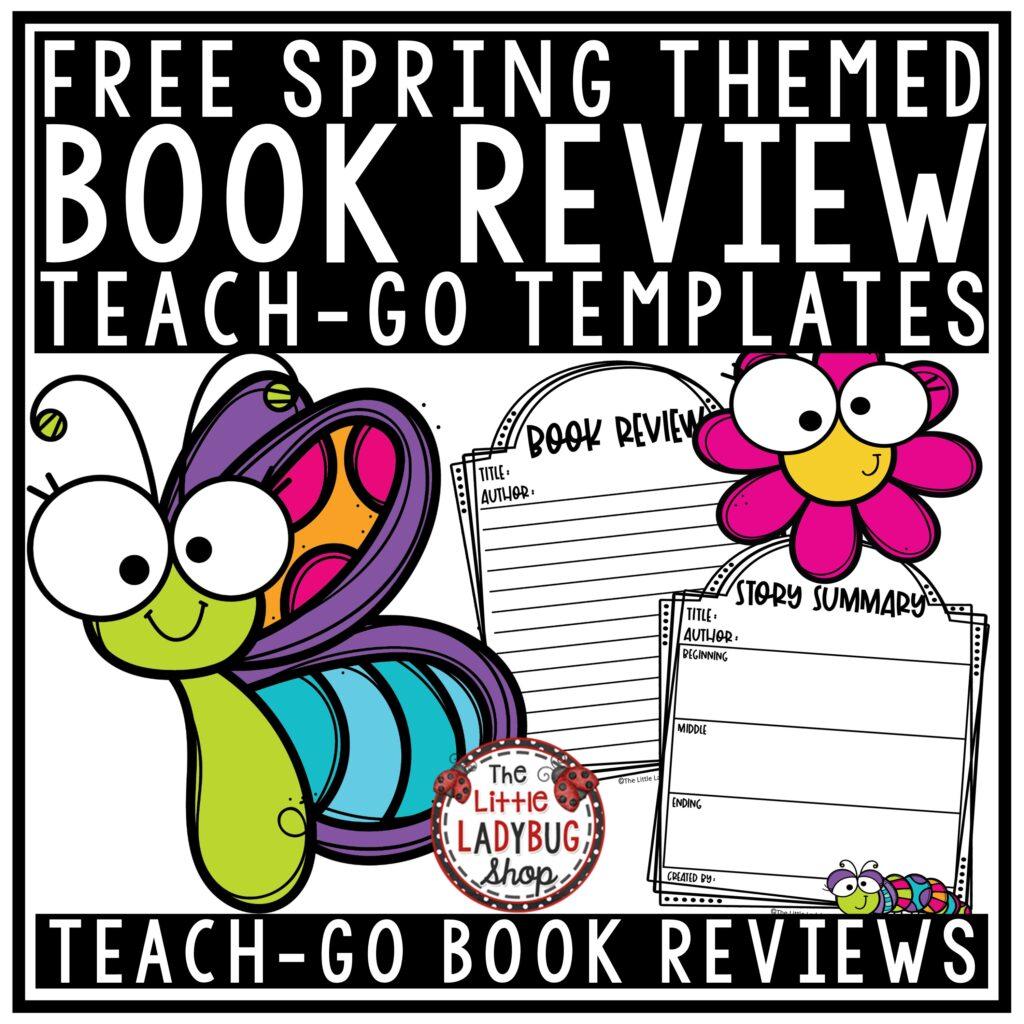 Spring Book Review Freebie