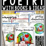 Teaching Poetry to kids with ideas and activities. Poetry Freebie perfect for 3rd grade, 4th grade. 5th grade. and homeschool students
