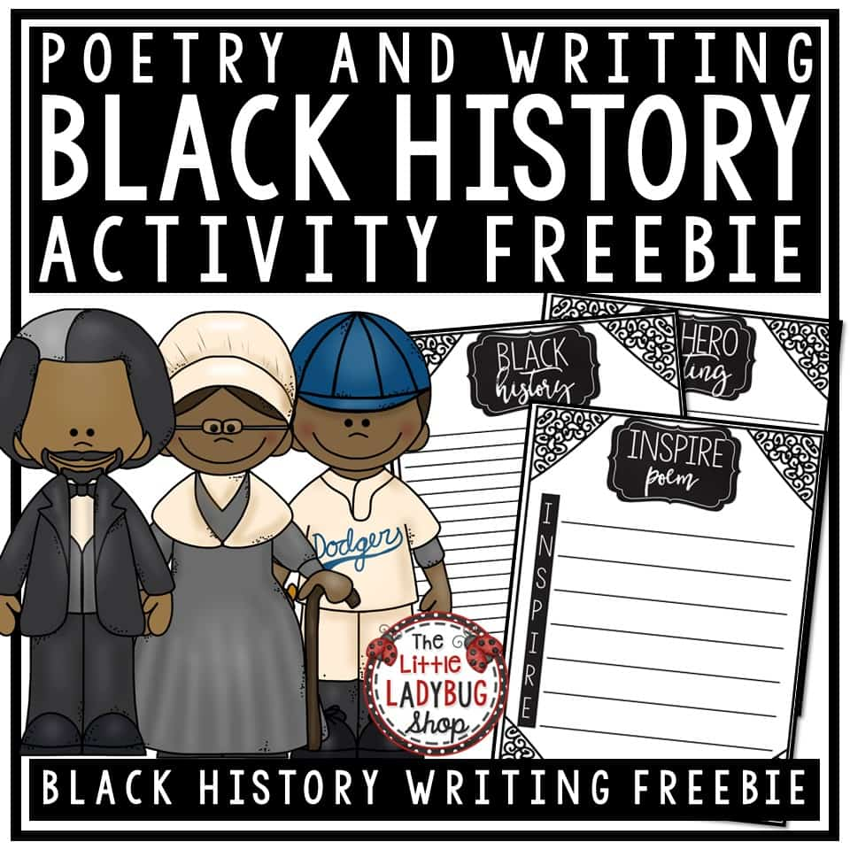 Black History Month Freebie