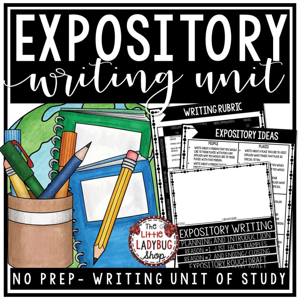 expository writing activities Paragraph writing activities and writing prompts for opinion writing, narrative writing, expository writing all at your fingertips for your writing station and.
