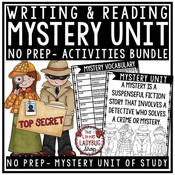 Mystery Unit Activities - Mystery Genre