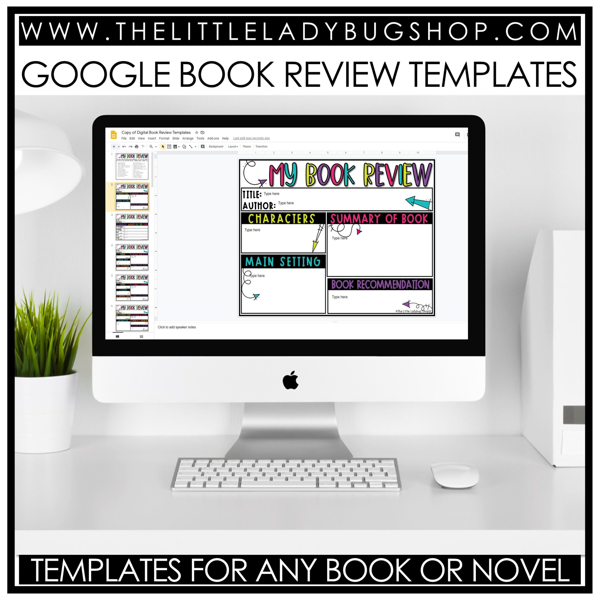 Book Review Google Resource