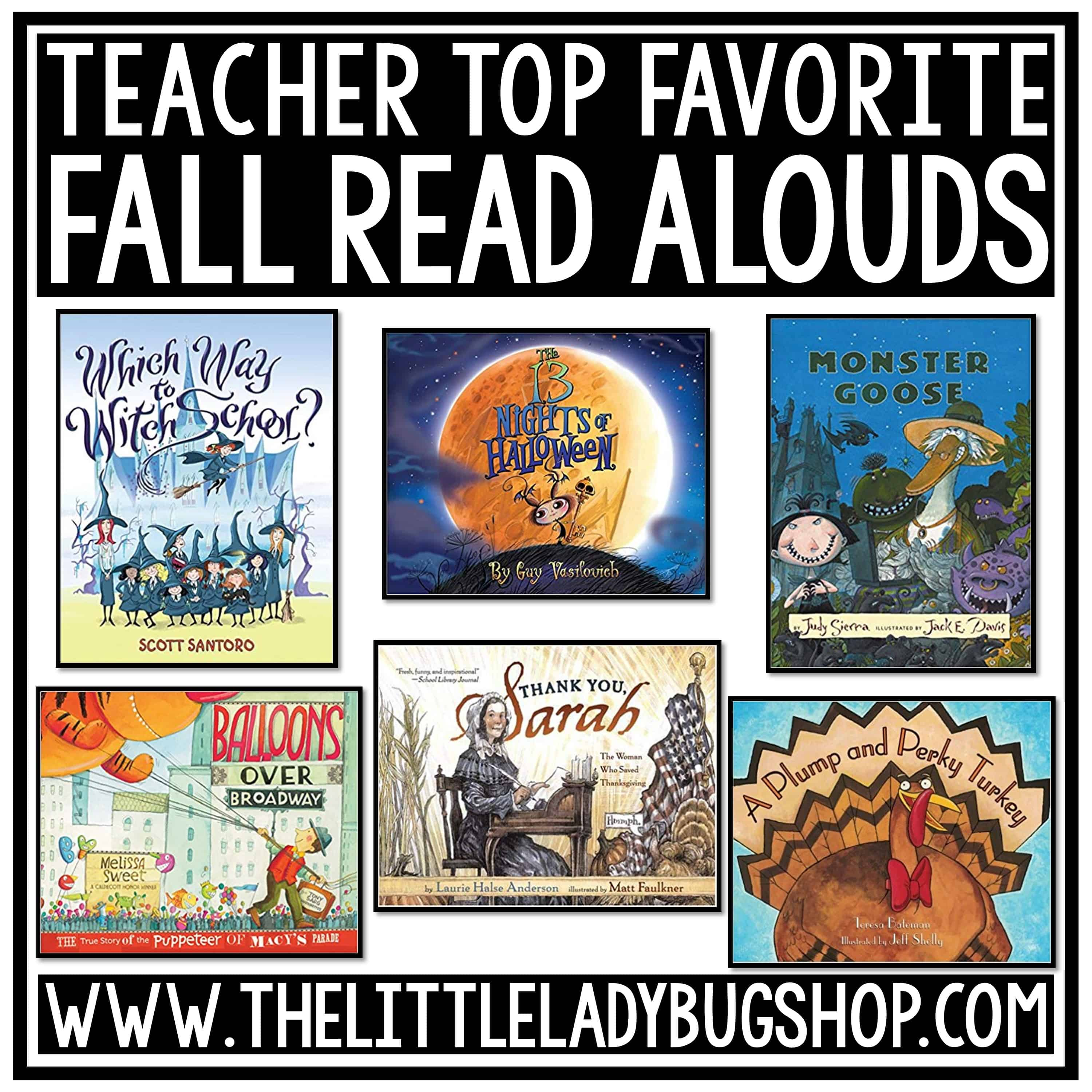 Festive Fall Learning Bulletin Boards, Books and Fall Poetry Writing