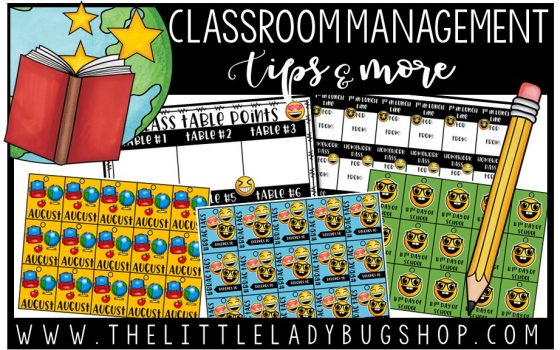 Classroom Management Ideas & Tips