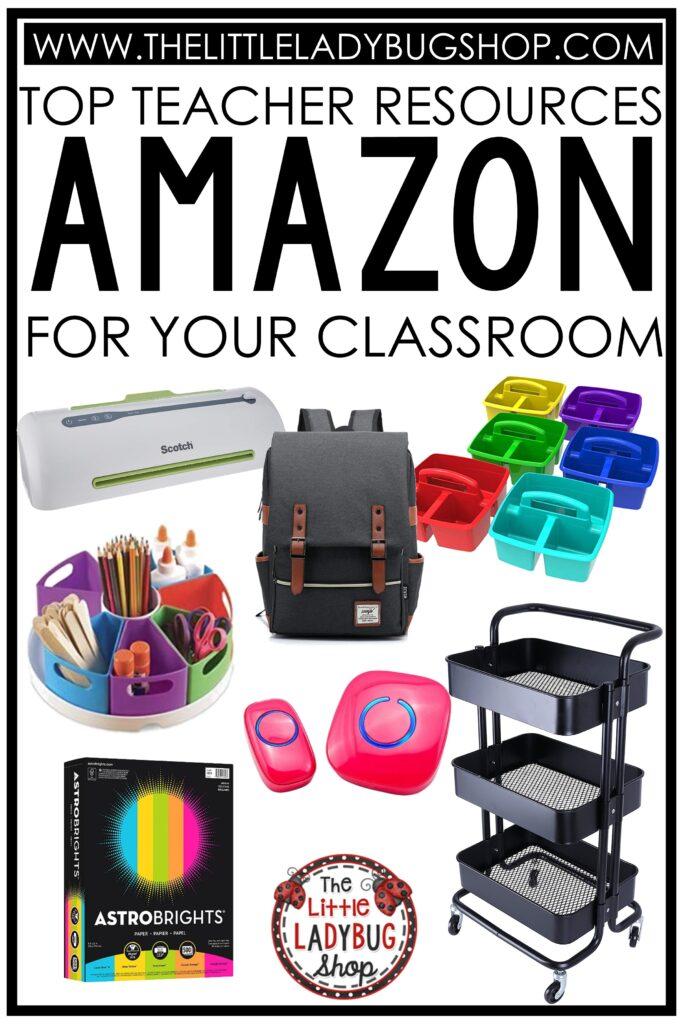 Amazon Teacher Must Have Classroom Hacks, and ideas!