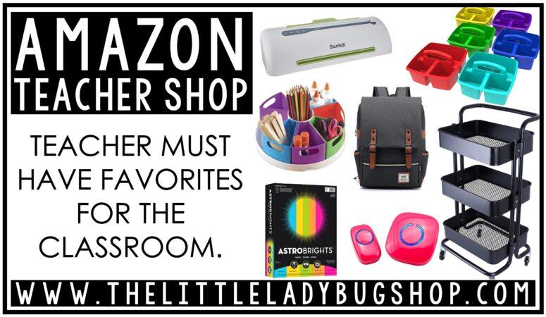 Top Amazon Teacher Classroom Must Haves