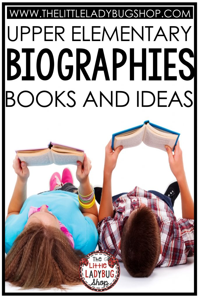 Books, Research and Writing Biographies in Upper Elementary