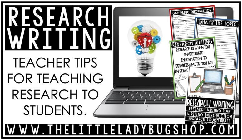 Teaching Research Writing in Upper Elementary