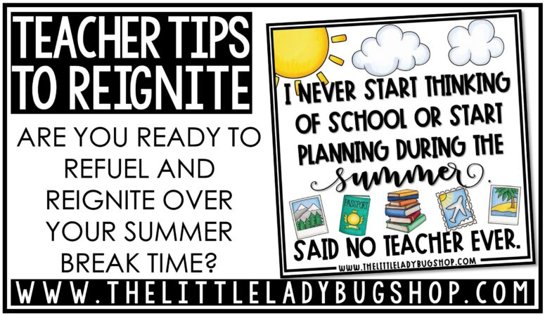 Teacher Tips to Reignite for Back to School