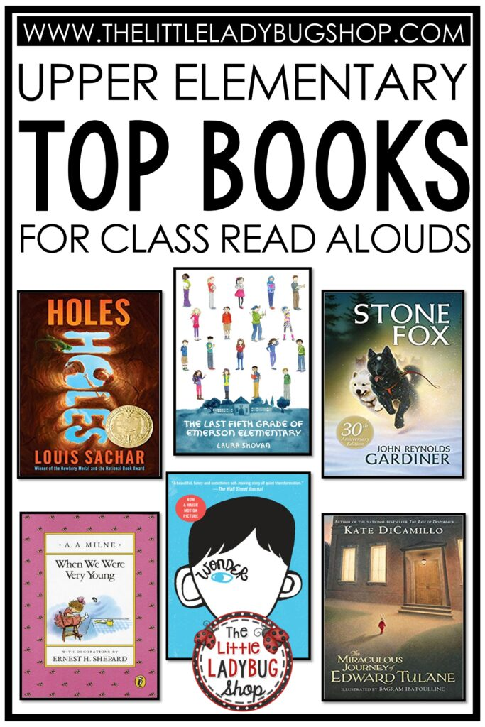 Read Aloud Chapter Books for Upper Elementary