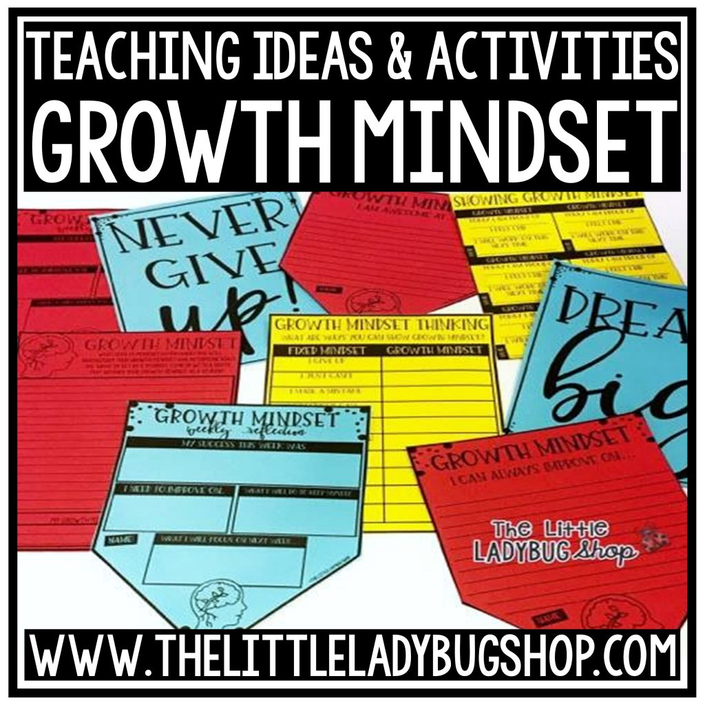 Growth Mindset Writing Activity Freebie