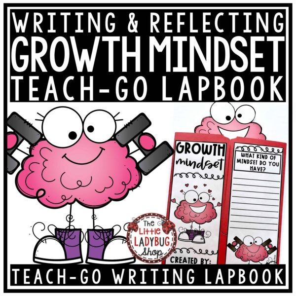 Growth Mindset Writing Lapbook