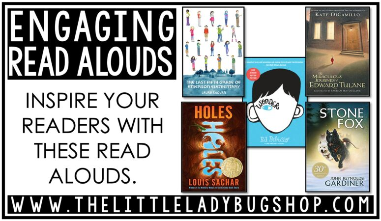 Engaging Read Alouds for Upper Elementary