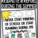Teacher Summer Planning Tips to Reignite and Refue