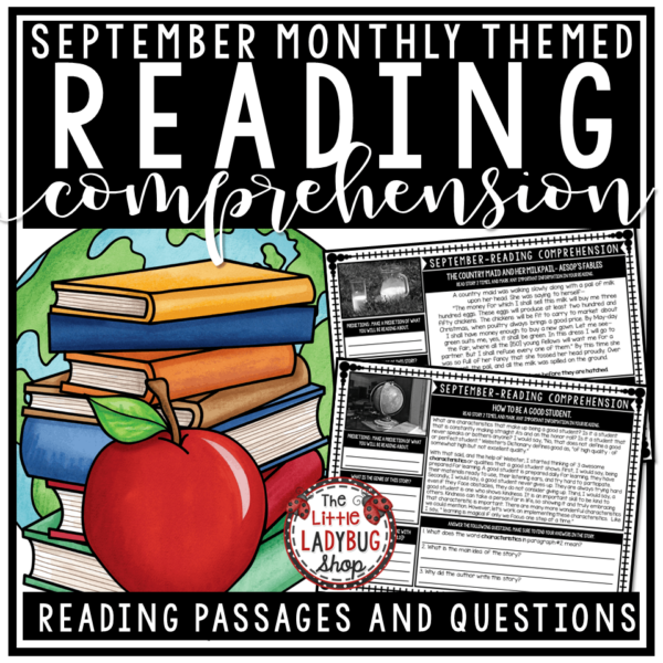 Close Reading Comprehension Passages and Questions 4th Grade, 3rd Grade Bundle #readingcomprehension #readingpassages #readingcomprehensionpassages