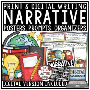 Digital Personal Narrative Writing Prompts