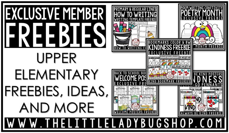 Free resources for elementary teachers and homeschoolers