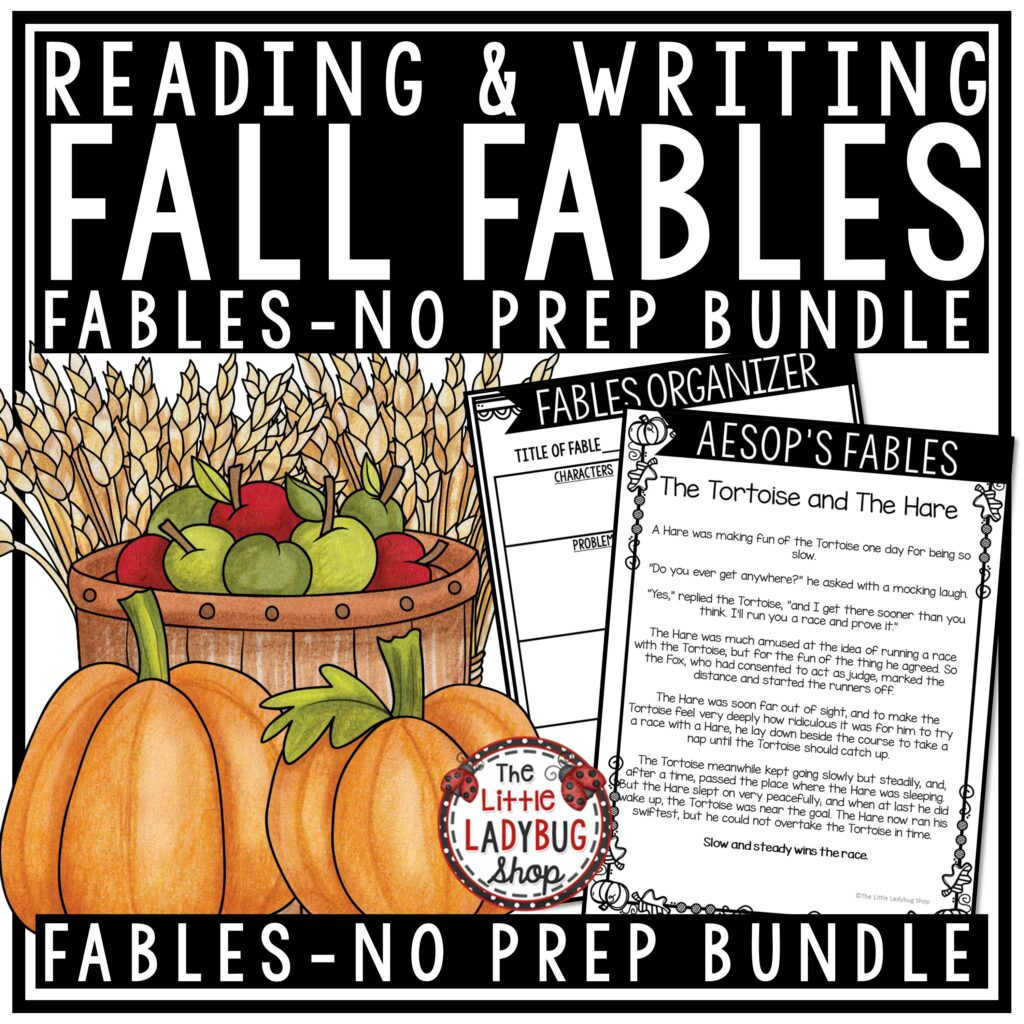 Fall Fable Writing