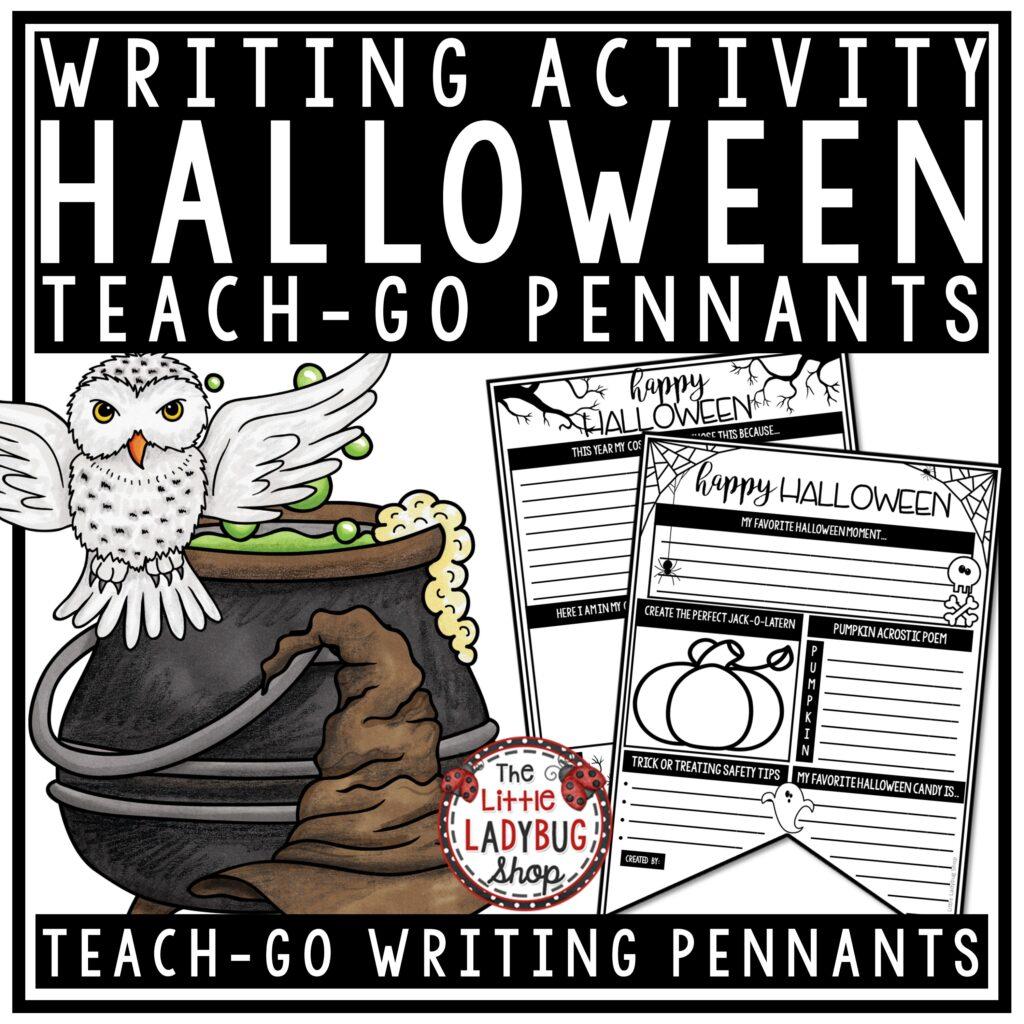 Halloween Writing Bulletin Boards