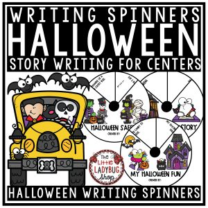 Halloween Writing Center Activities - Halloween Safety, Scary Story