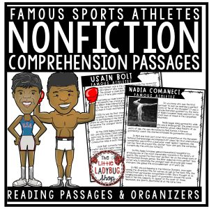 Athletes and Sports Figures Nonfiction Reading Passages