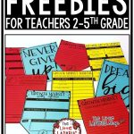Free Literacy Resources Elementary