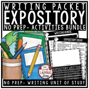 Expository Writing Graphic Organizers and Prompts