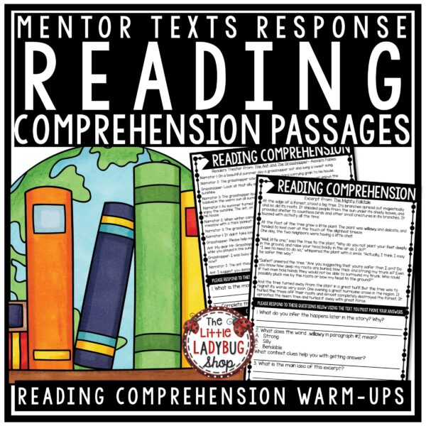 Reading Test Prep 3rd Grade, 4th Grade Bundle