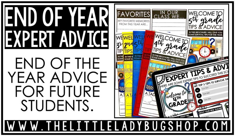 End of the Year Advice for Future Students