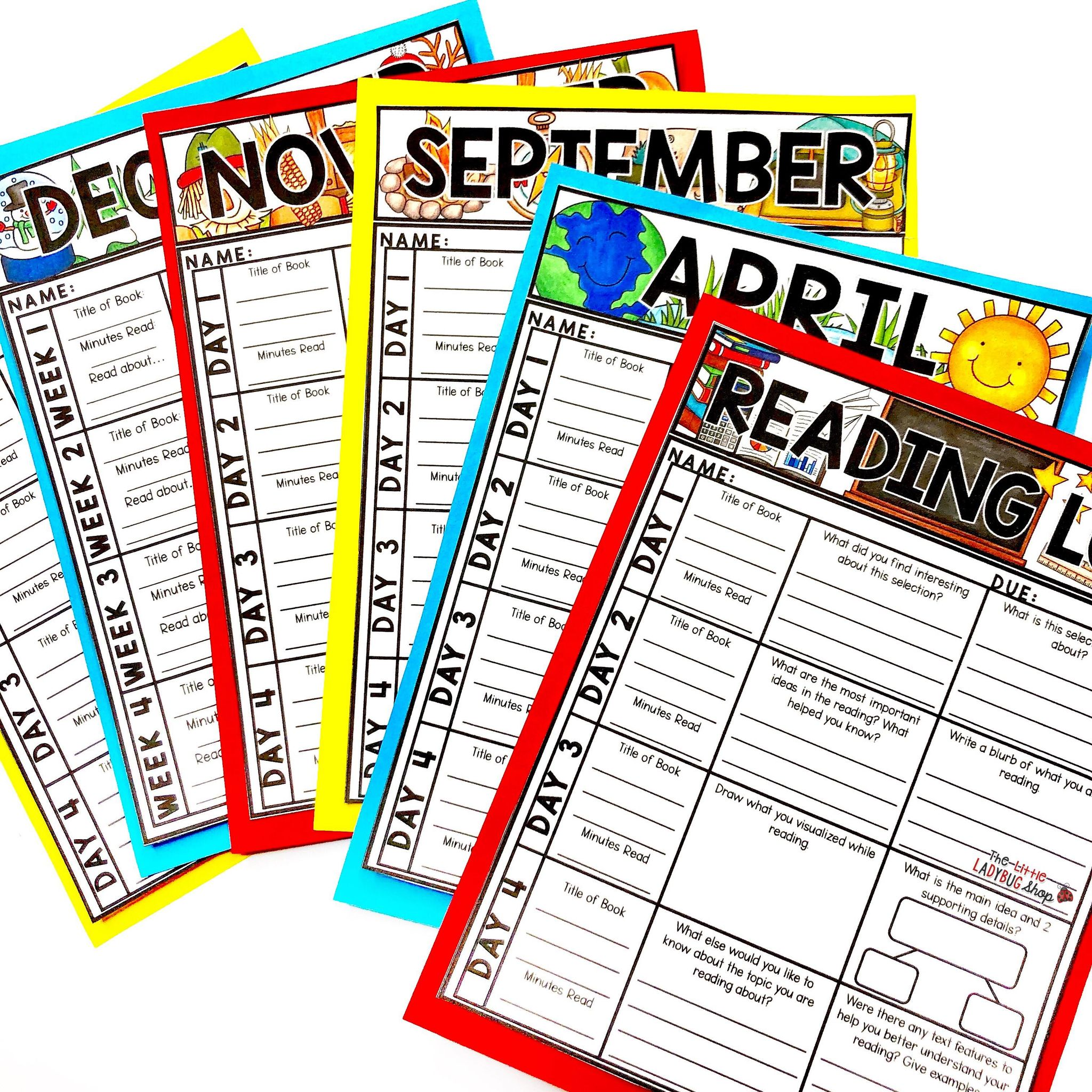 Using Fiction & Nonfiction Reading Logs in Upper Elementary