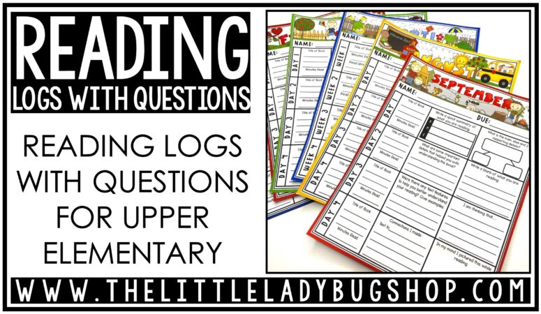 Reading Logs in Upper Elementary