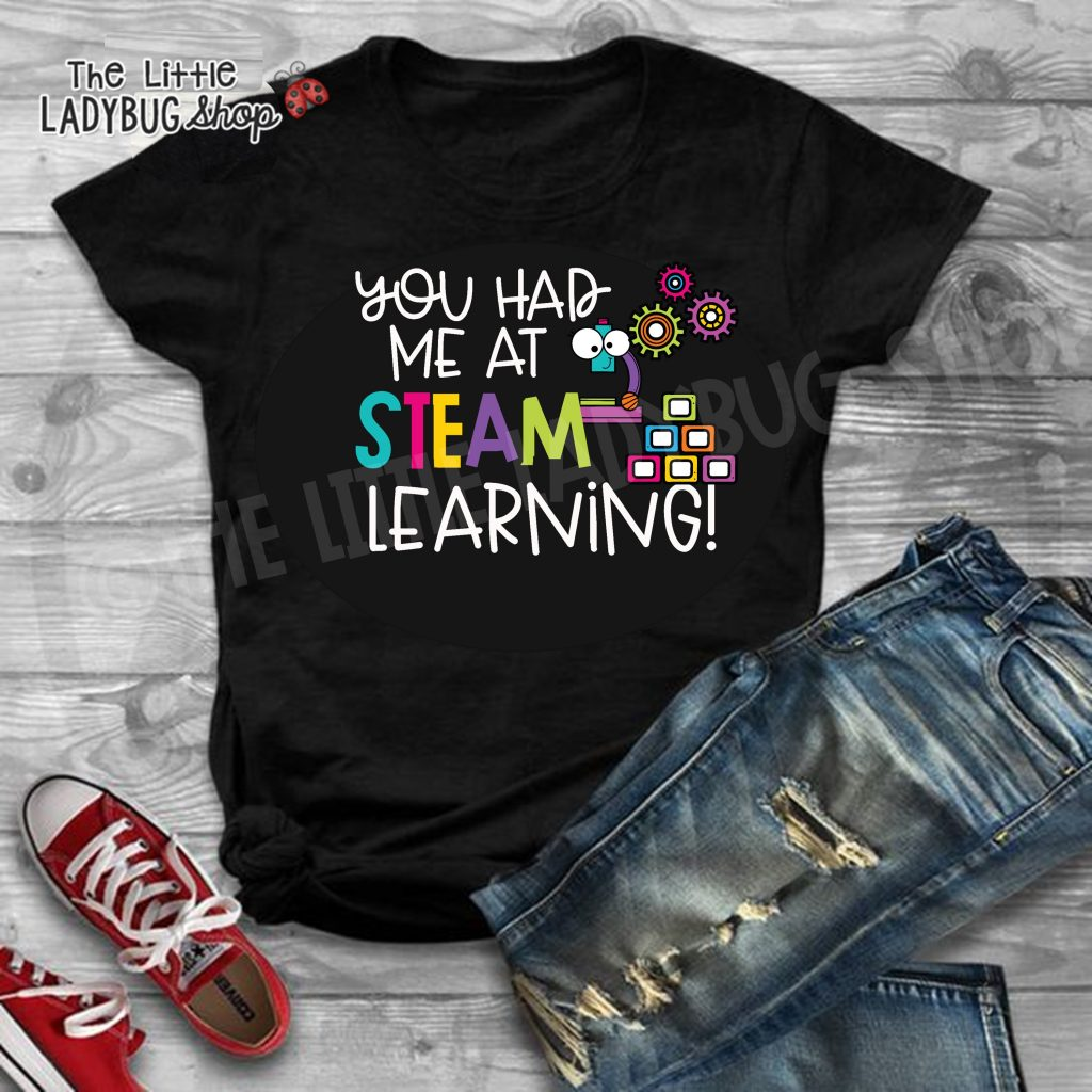 STEAM Teacher Tee