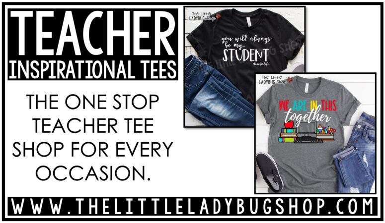 Fun & Inspirational Teacher Shirts