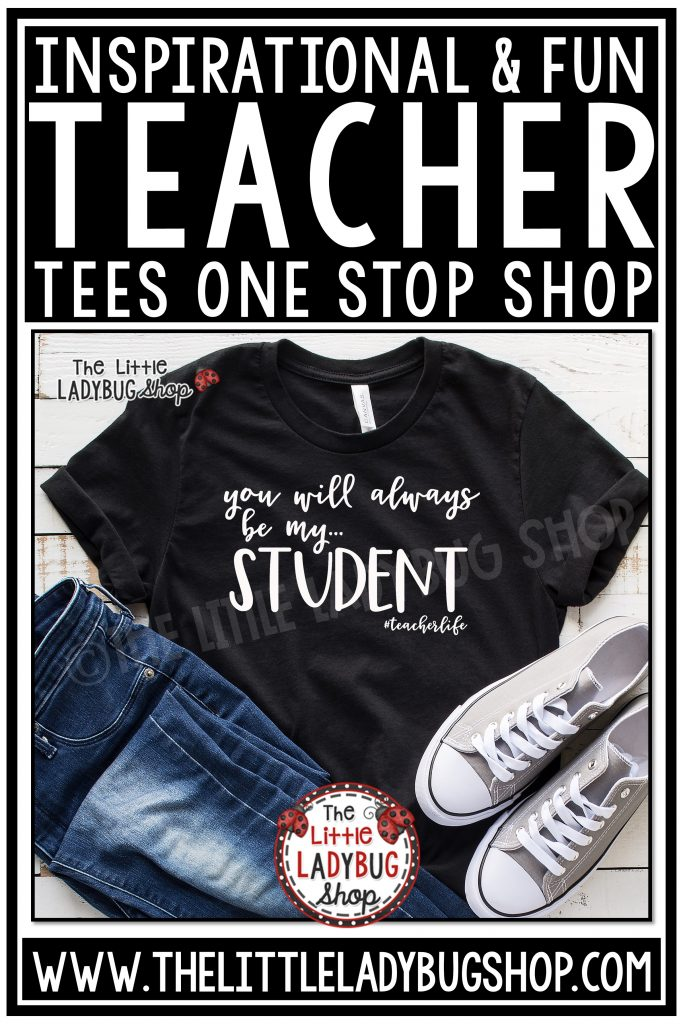 Fun & Inspirational Teacher Shirts School Spirit Tees, Teacher Team T-Shirt