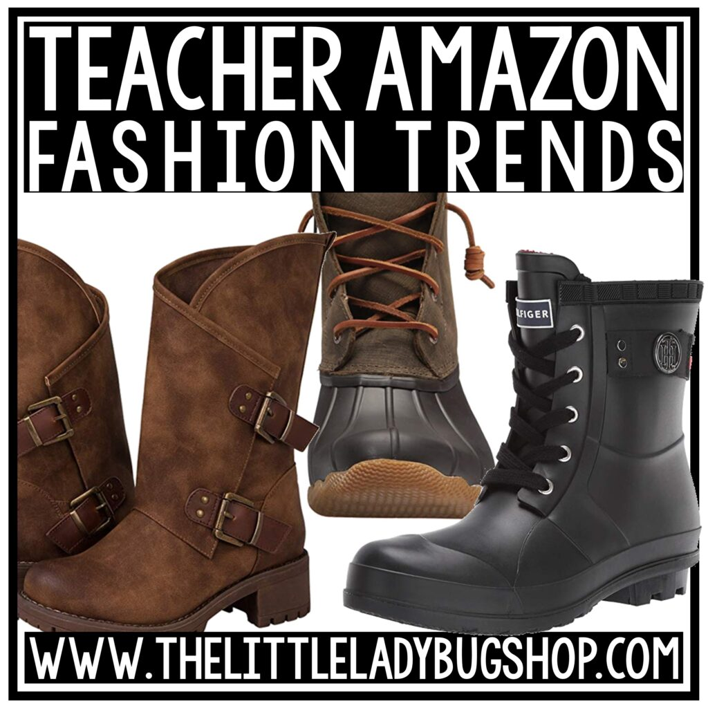 Fall Amazon Teacher Outfits