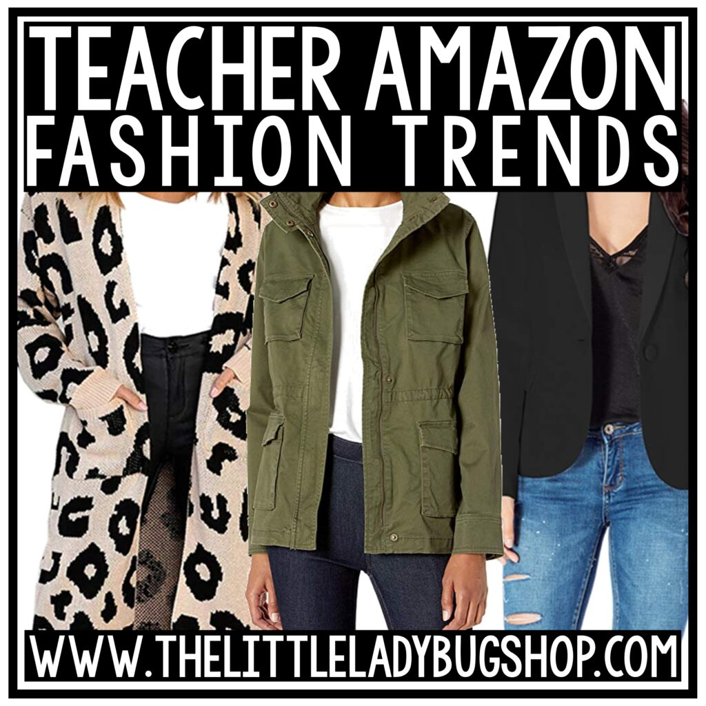Fall Amazon Teacher Outfits & Style