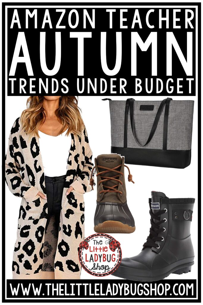 Fall Amazon Teacher Style