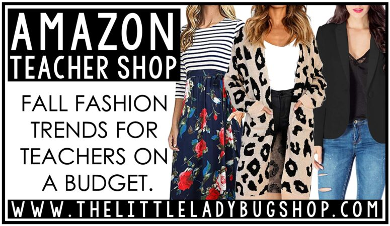 Fall Amazon Teacher Outfits