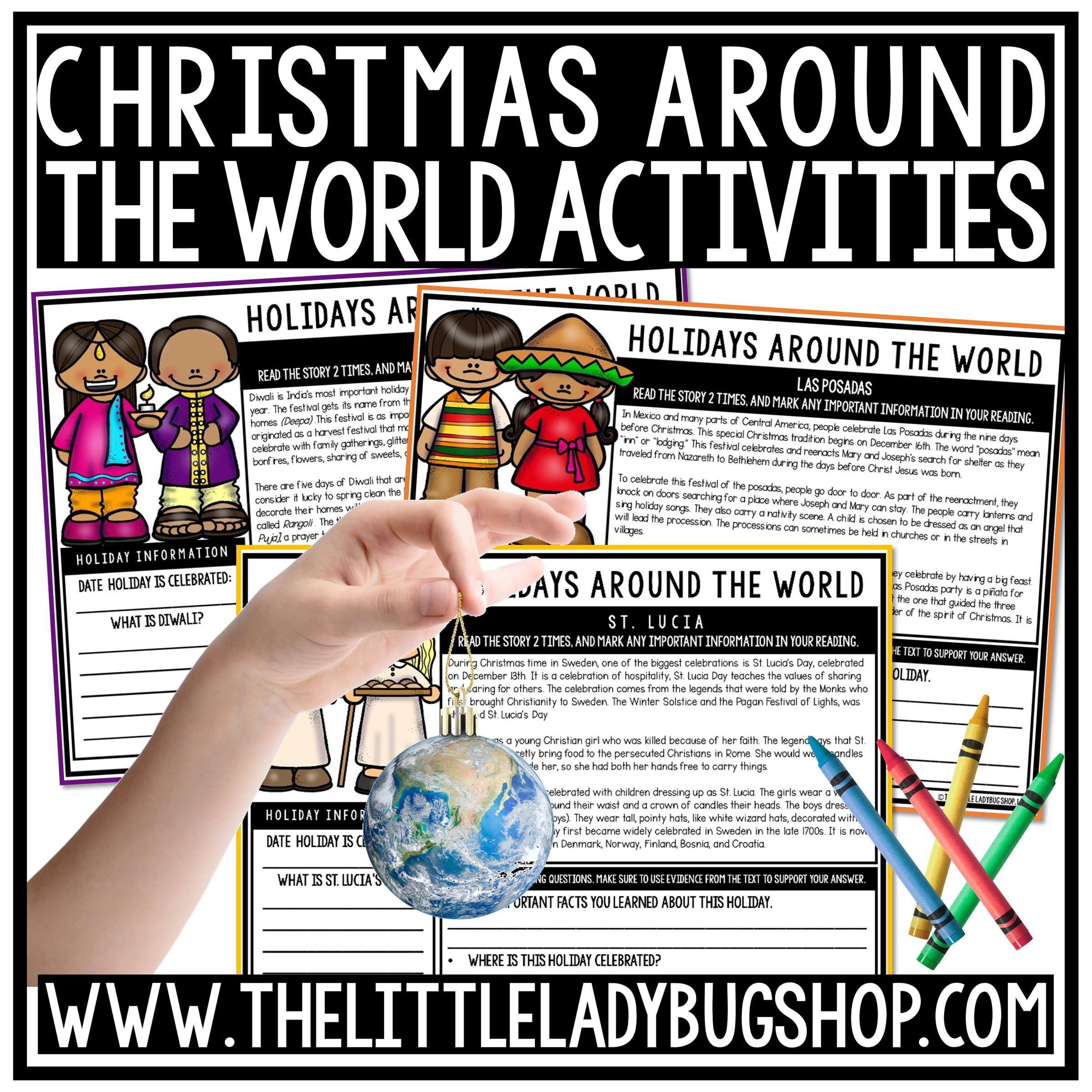 Holidays Around the World Reading Comprehension