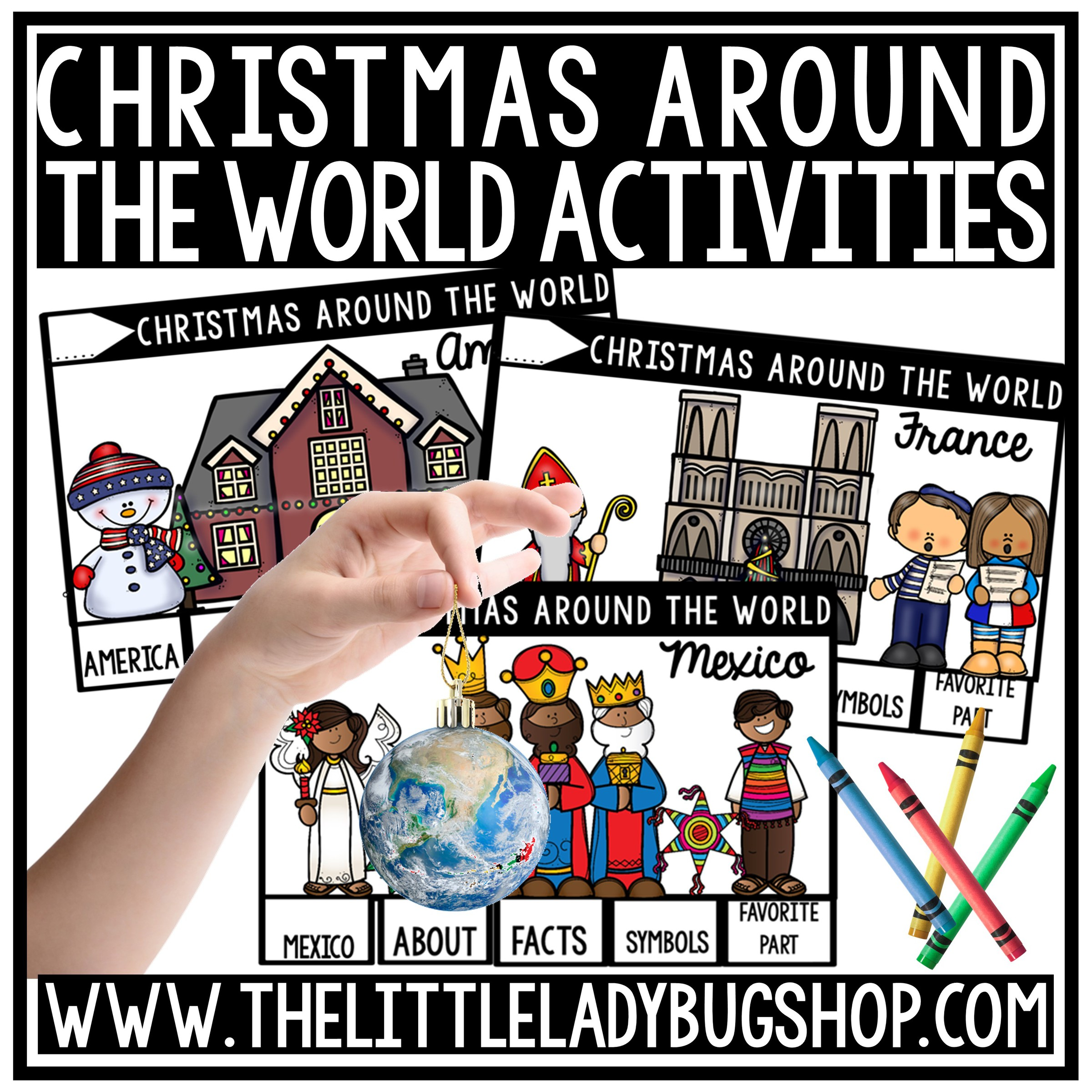 Christmas Around The World Research Activities The Little