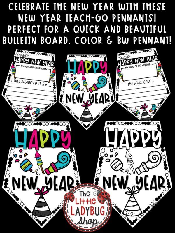 New Year's Bulletin Board