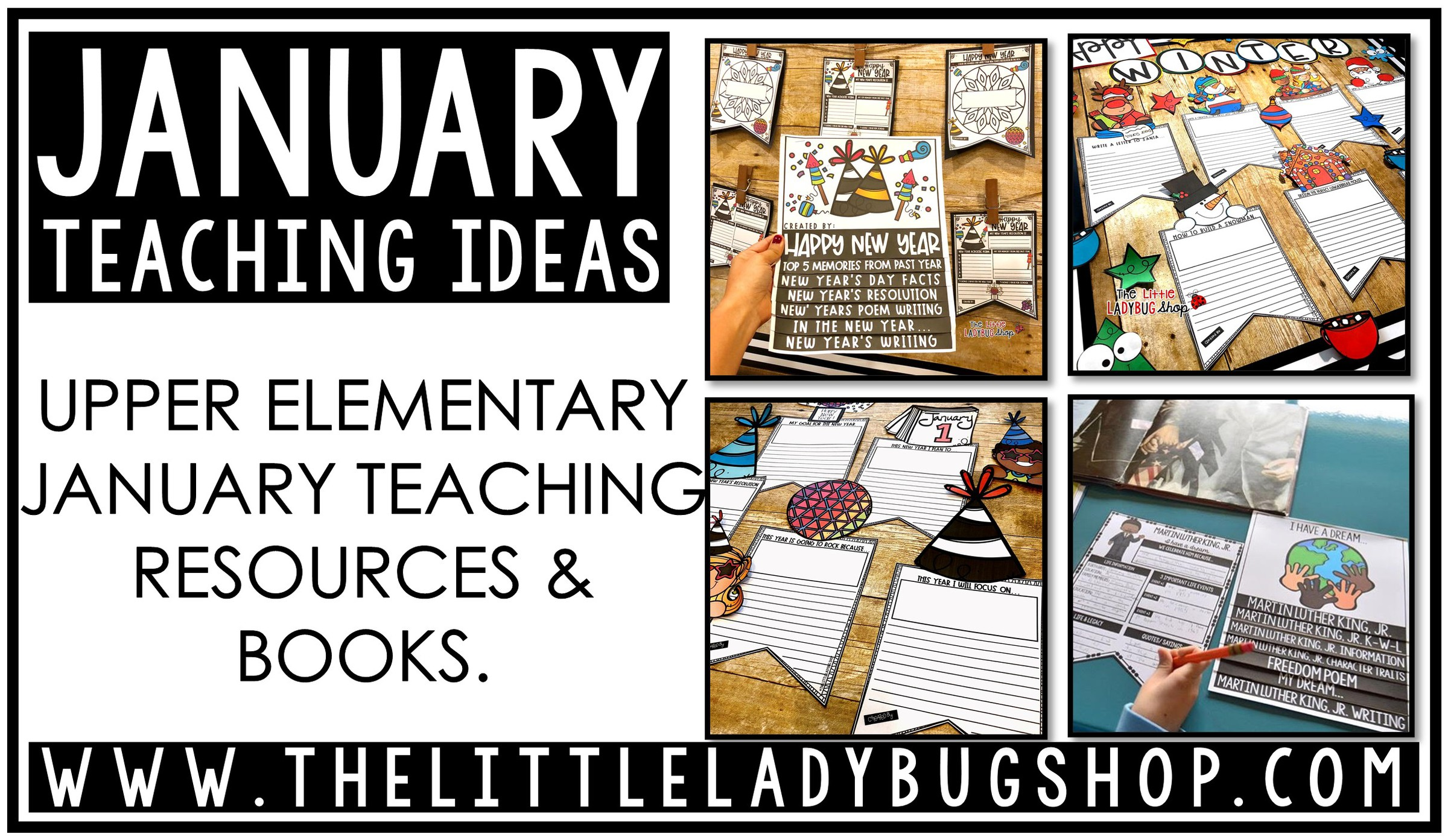 January Resources for Upper Elementary Students