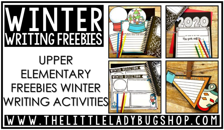 Free Winter Writing Activities