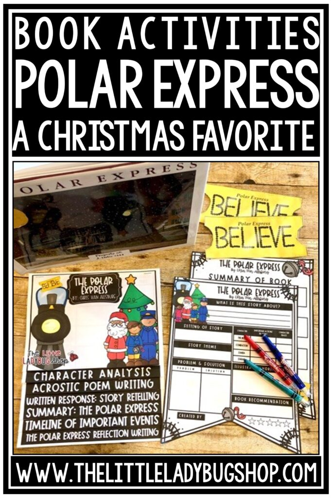 The Polar Express Activities for Upper Elementary