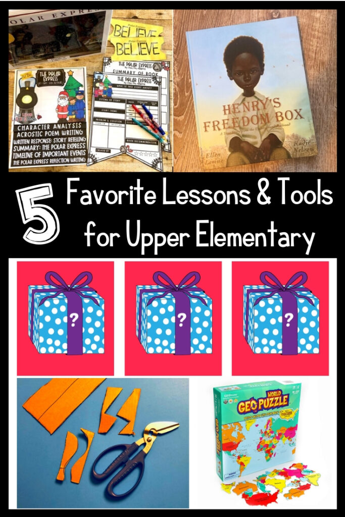 Upper Elem Fave Things