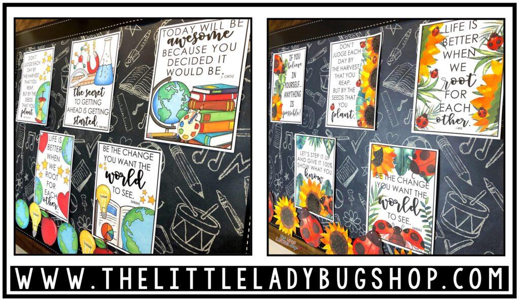 Bulletin Board Ideas for Classroom Decor