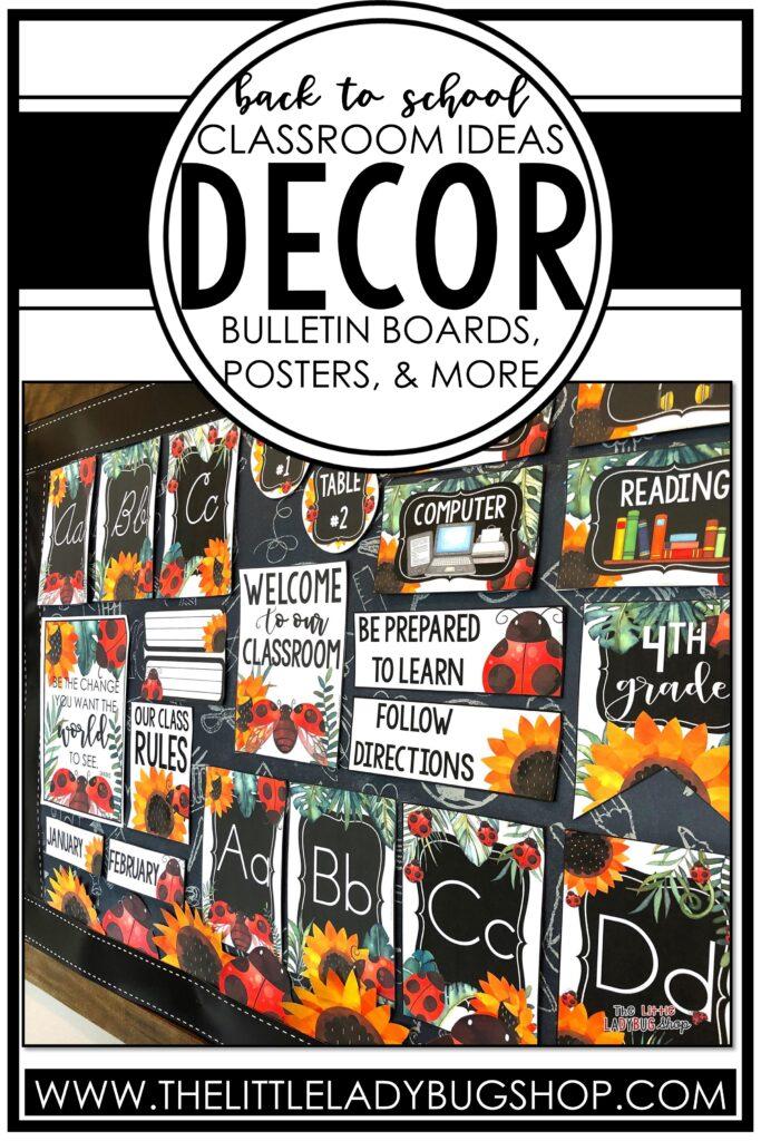 Classroom Decor Themes
