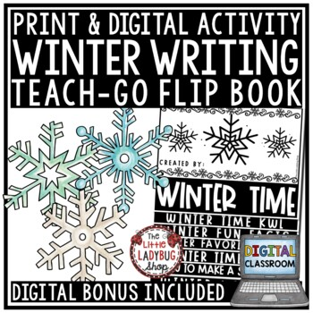 Digital January Winter Bulletin Board, Writing Activities How to Build a Snowman